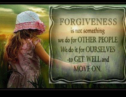 Om förlåtelse, ursäkt och försoning. - Jakten på Det Goda Livet